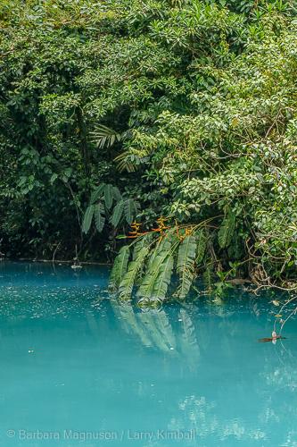 Blue Lagoon of Rio Celeste