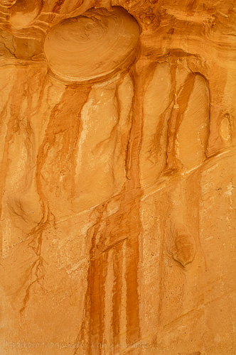 Erosion forms, Crack Canyon