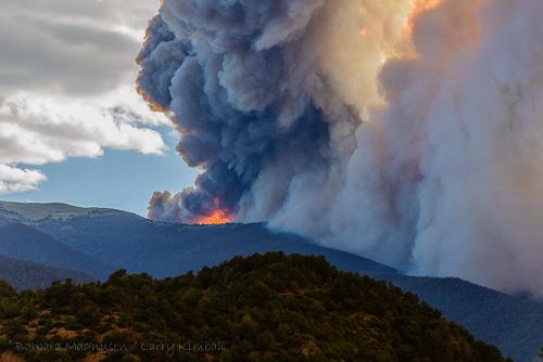 Hayden Pass wildfire